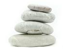 Balance - graue Steine übereinander