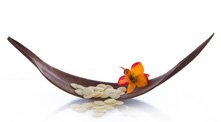 Ayurveda - Schale mit Lilie und Steinen